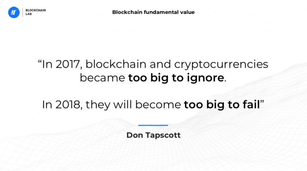 Don Tapscott. The blockchain quote