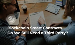 Cover for Blockchain smart contracts