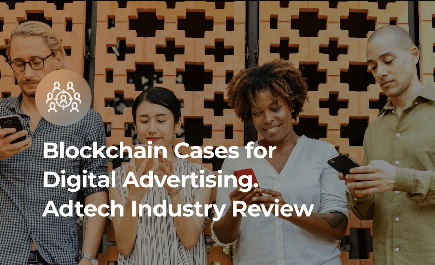 Adtech and blockchain cover