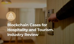 Hospitality and blockchain. Cover