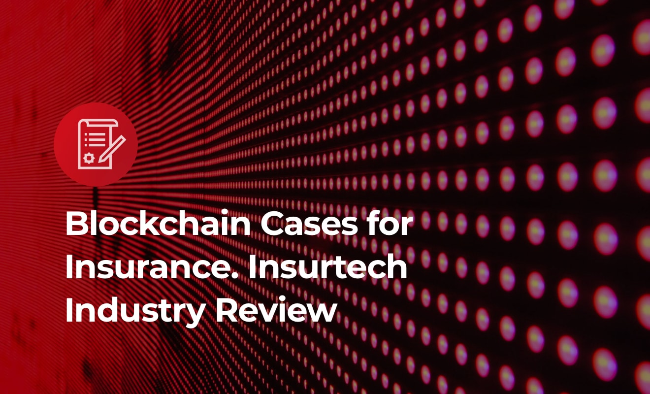 Insurtech and blockchain. Cover