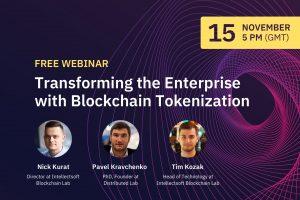 Blockchain Webinar Tokenization