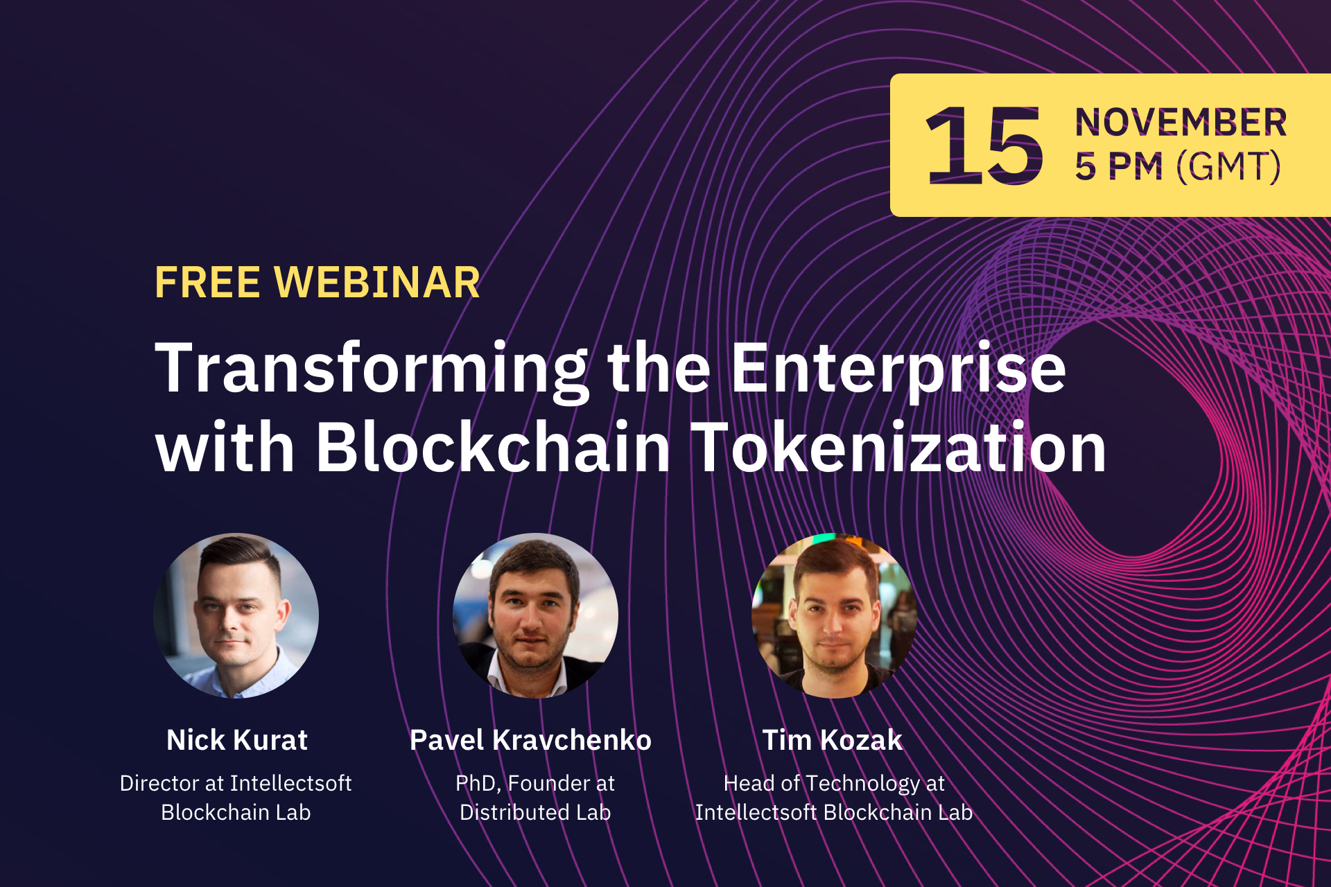 Blockchain Webinar Tokenization